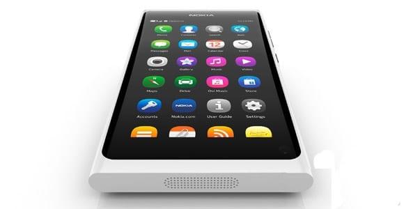 Nokia N9 Blanco