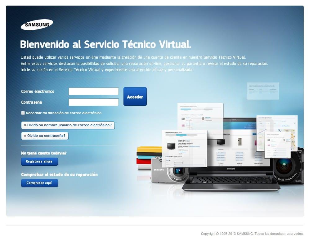 Samsung SAT Seguimiento