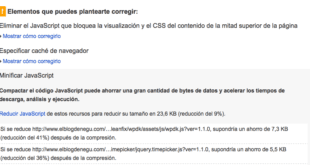 maquinas-virtuales-wordpress-PageSpeed-Insights-minificar-css