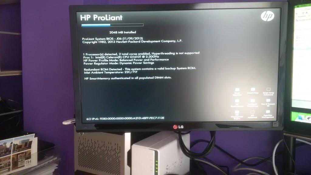 HP Microserver G8 Review