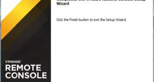 VMware Remote Console