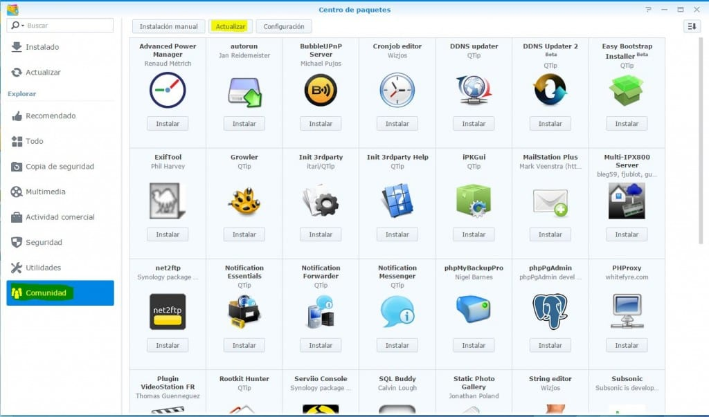 repositorios-paquetes-synology-4