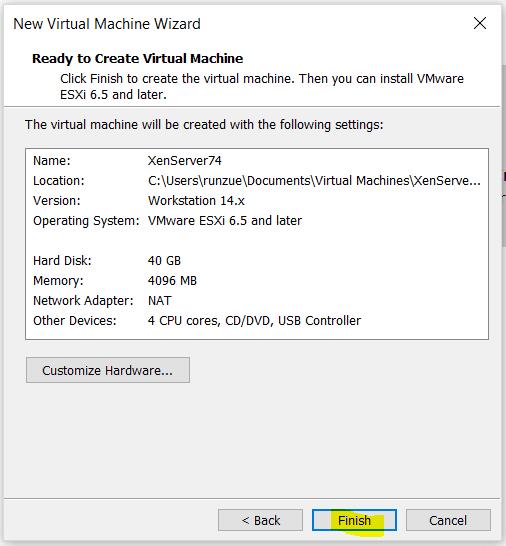 instalar-citrix-xenserver-en-vmware-workstation-14-pro-15