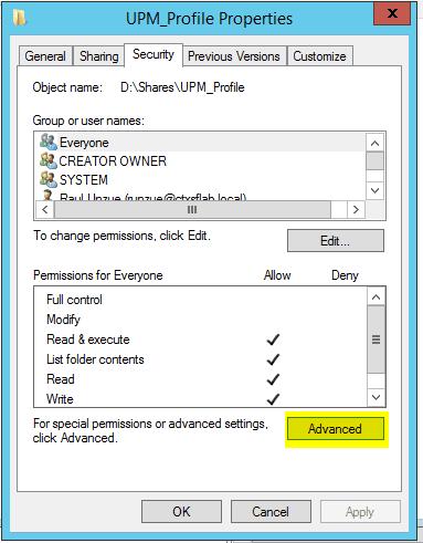 Configurar-Citrix-UPM-11