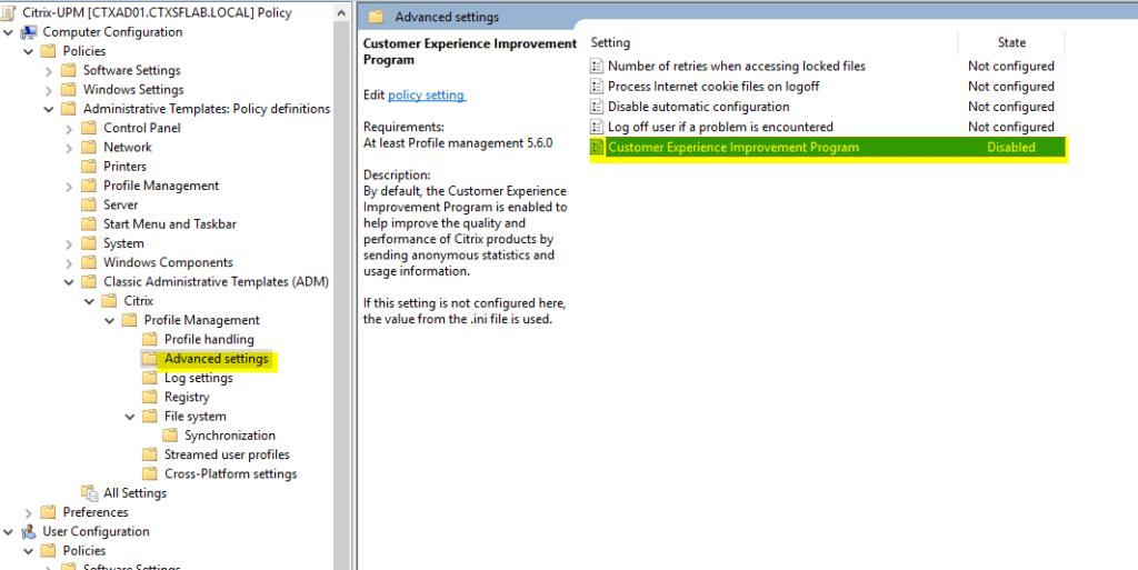 Configurar-Citrix-UPM-31