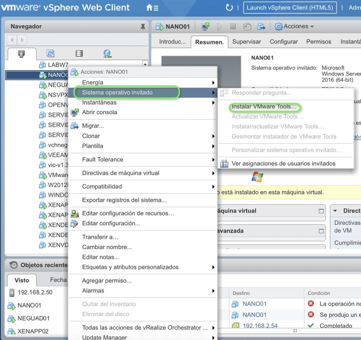 Install-VMware-Tools-core-server-2016-2