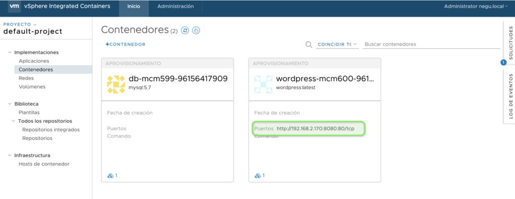 crear-wordpress-desde-plantilla-en-vsphere-integrated-containers-7