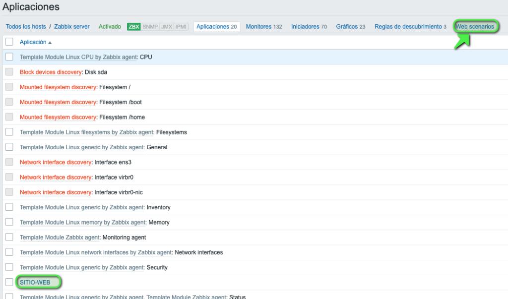 monitorizar-pagina-web-con-zabbix-5