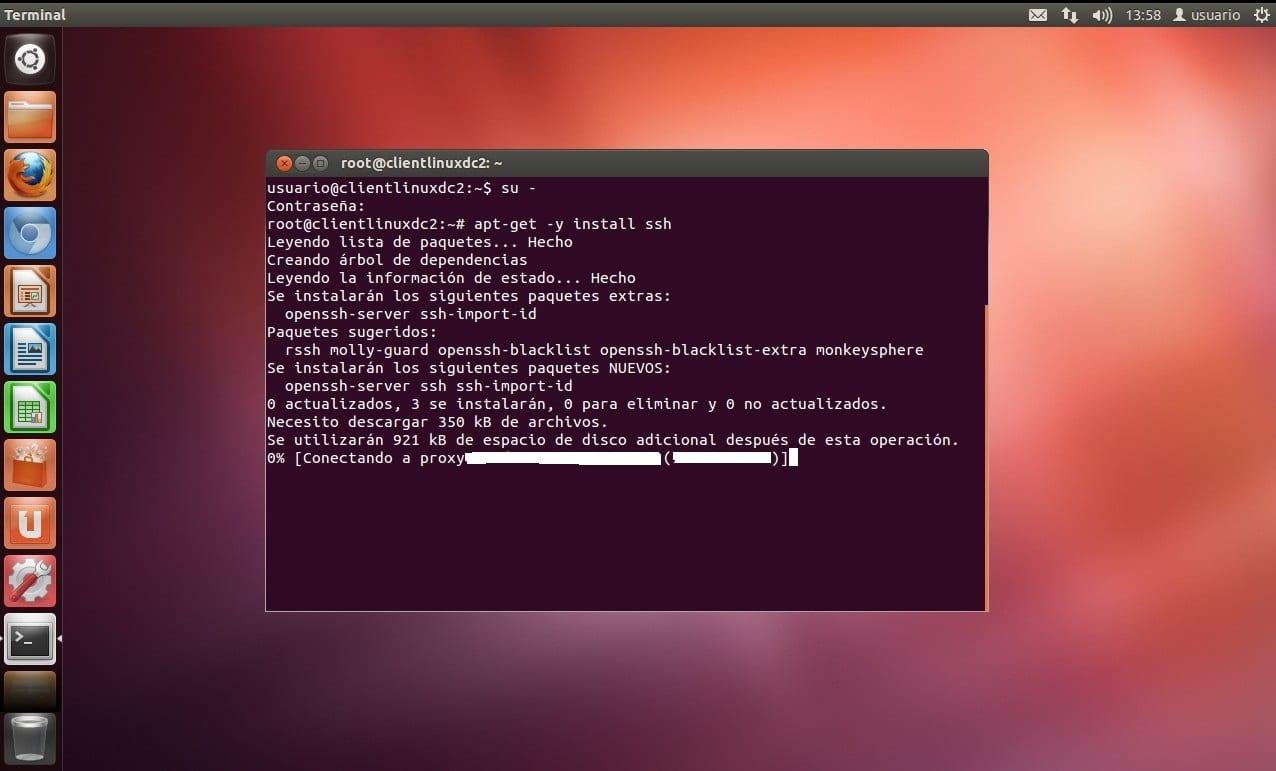 proxy ubuntu