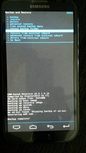 recovery kernel 1