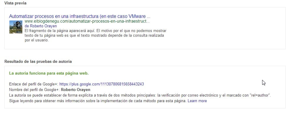 Google Authoship