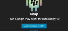 Snap (Google Play) para BlackBerry 10 en Blackberry Z30