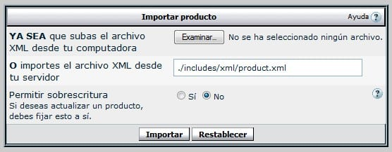 importaproducto