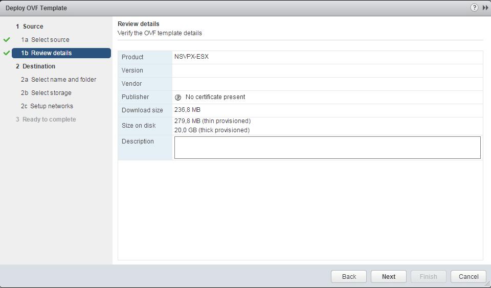 Instalación de Citrix Netscaler Gateway 10 5