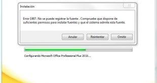 error-1907-no-se-puede-registrar-la-fuente-office-2010