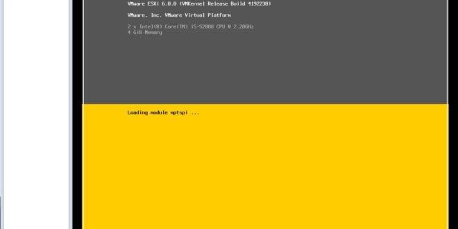 Lanzar fichero install.sh en servidor VMware ESXi 1