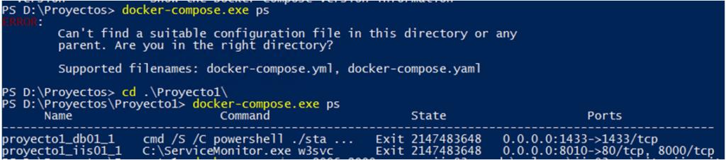 Dockerfile y Docker Compose 3