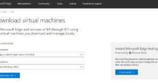 Maquinas virtuales Windows gratuitas