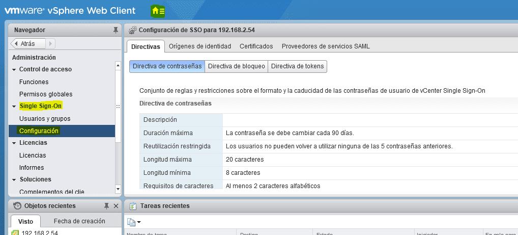 Integración directorio activo vCenter 1