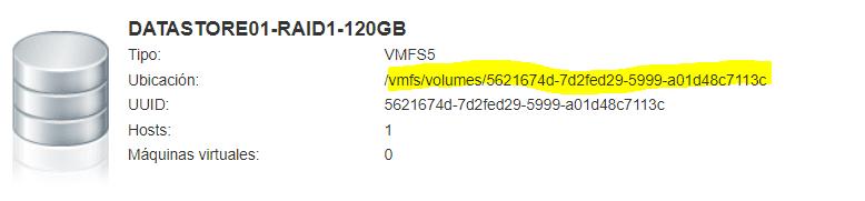 Modificar Scratch Location en VMware 6.5-2