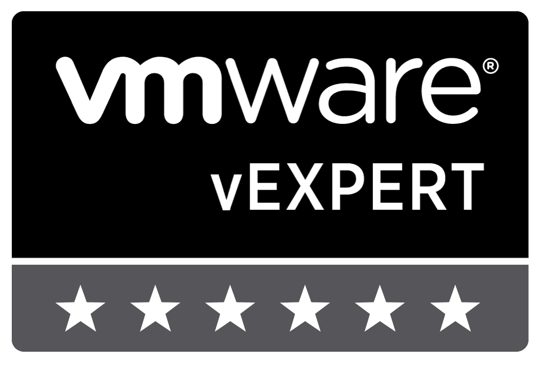 vExpert 2018 maquinas virtuales