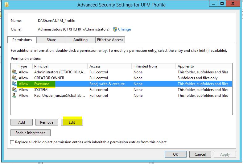 Configurar-Citrix-UPM-12
