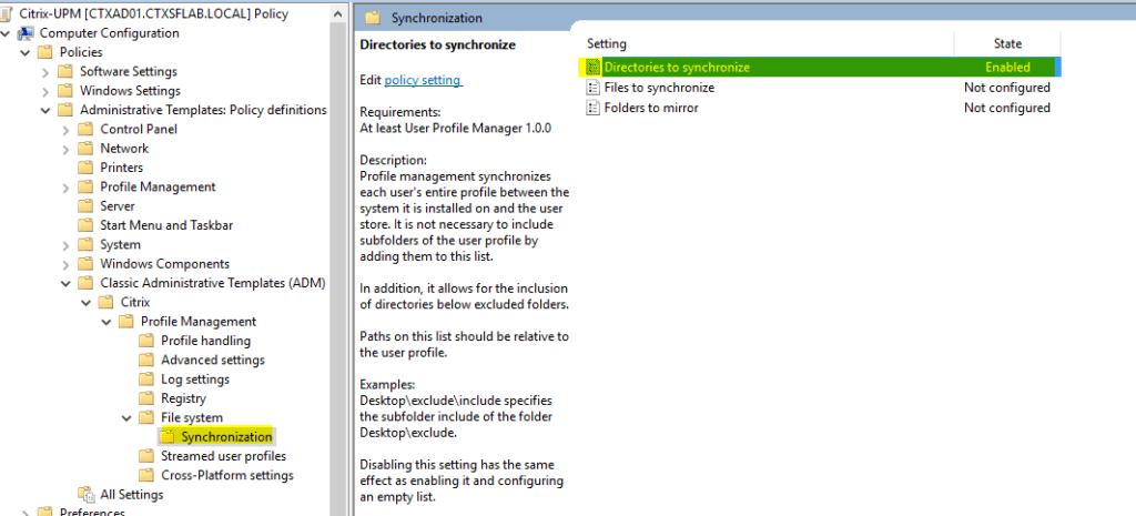 Configurar-Citrix-UPM-32