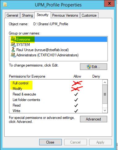 Configurar-Citrix-UPM-8