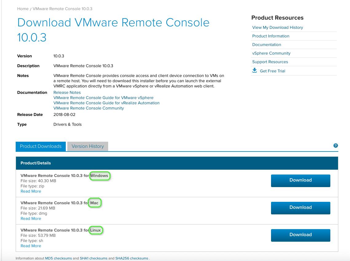 VMware Remote Console en Ubuntu - Blog VMware y Citrix