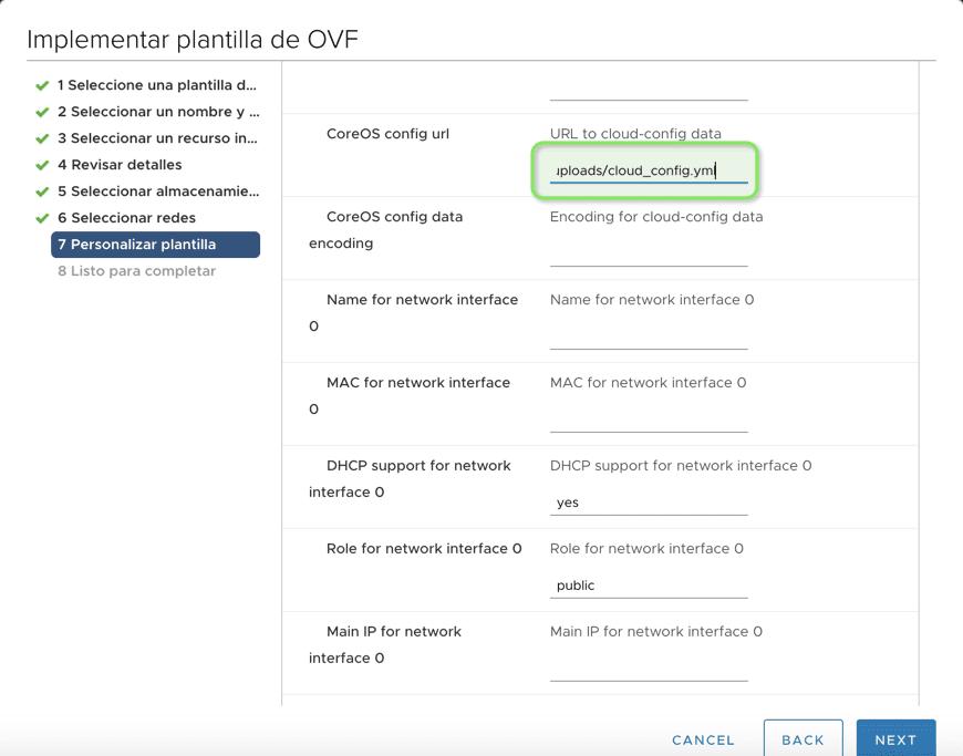 Configurar-cloud-config-en-coreos-en-vmware-1