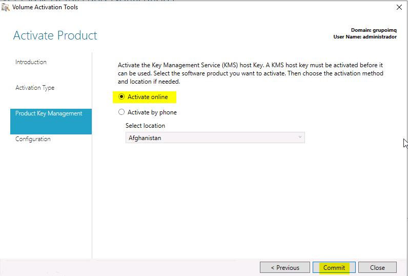 Instalación KMS en Windows Server 2016 - Blog VMware y Citrix