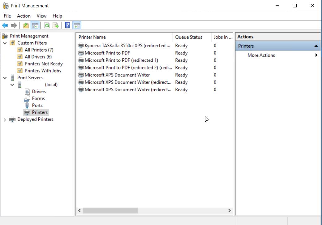 Instalar servidor de impresión en Windows Server 2016 - Blog VMware