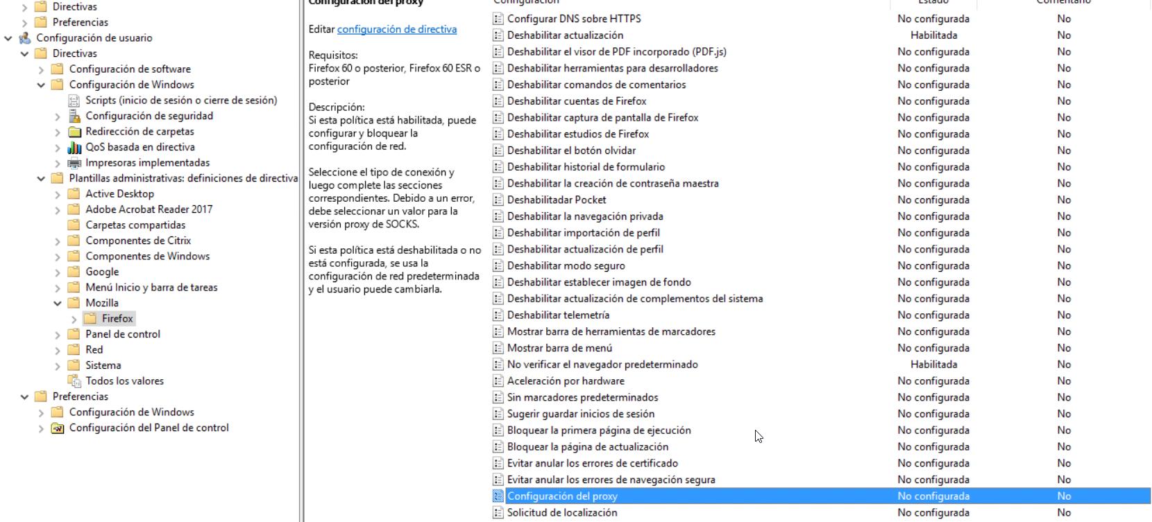 Firefox Esr Gpo