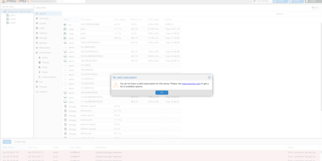 eliminar-mensaje-subscription-en-proxmox-1