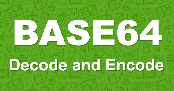 Powershell: Encode/Decode Base64